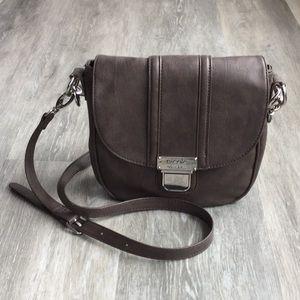 Nicole Miller Saddle Bag Style Crossbody